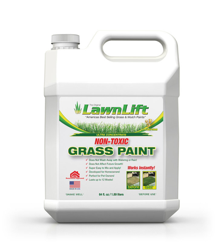 lawnlift america 39 s best selling grass paint. Black Bedroom Furniture Sets. Home Design Ideas